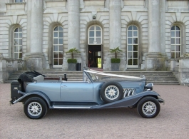 Convertible Beauford for weddings in London